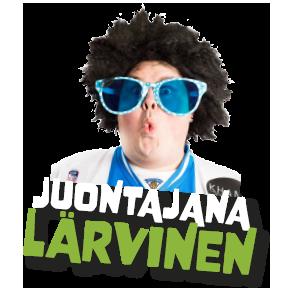 Pelti Auki -festivaalikiertueen juontaja Lärvinen